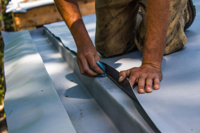 Installing TPO Roofing System